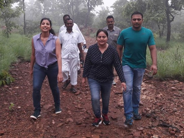 Collectors' Day Out: Amrapali, Preeti Meena Hike In Bayyaram Forest