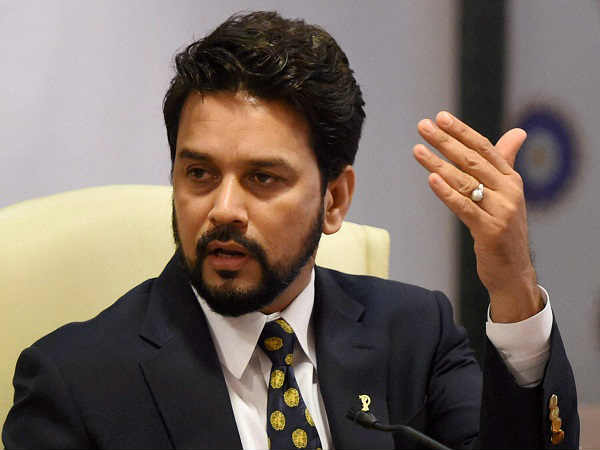 Won't shy away from accepting responsibility, if Indian Cricket requires: Anurag Thakur