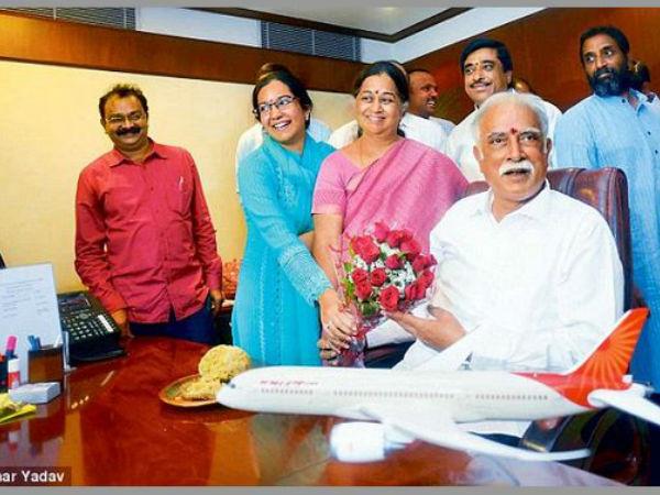 Ashok Gajapati Raju Daughter Should Be Enter His Dynasty Politics