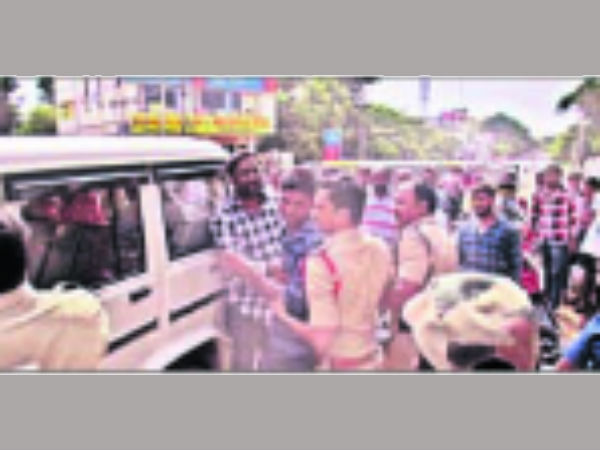 A CONSTABLE ATTACKS ON SI, INJURED