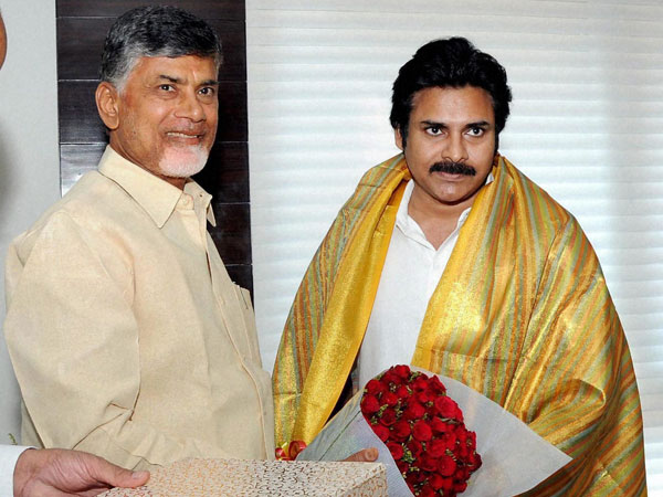 Chandrababu Calls Pawan Kalyan Discuss Uddhanam Kidney Problems