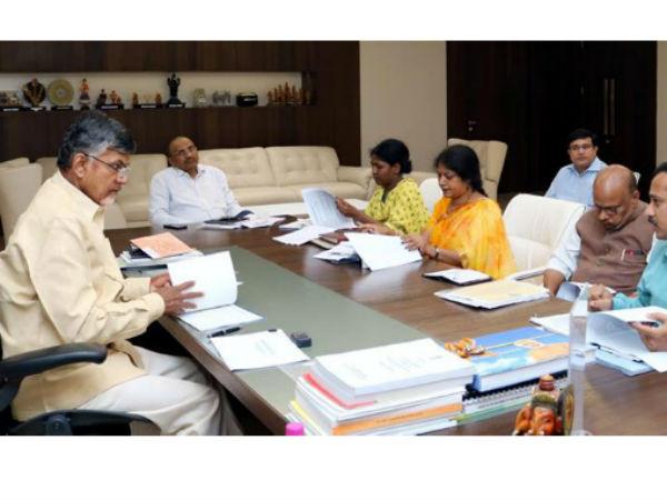 Chandrababu Naidu Review On Financial Year