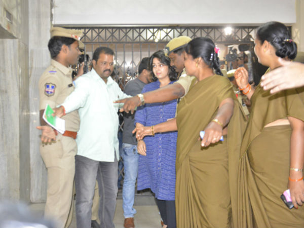 A Constable Allegedly Touched Charmi