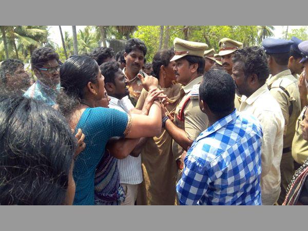 Tension West Godavari Protests Against Mega Aqua Food Park