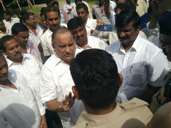 Mudragada Padmanabham House Arrest A Week