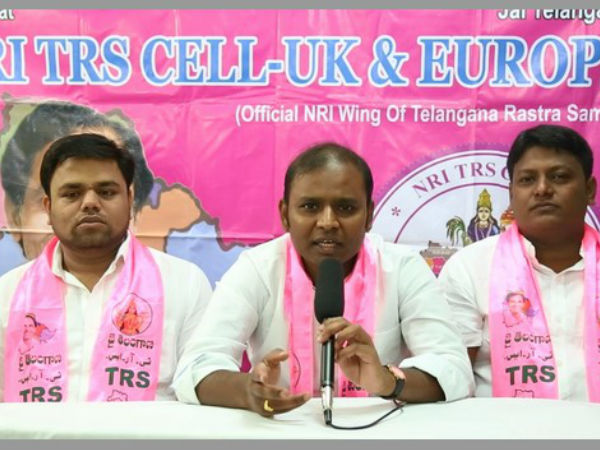 Nri Trs Cell Uk Members Condemned Uttham Kumar Reddy Comments
