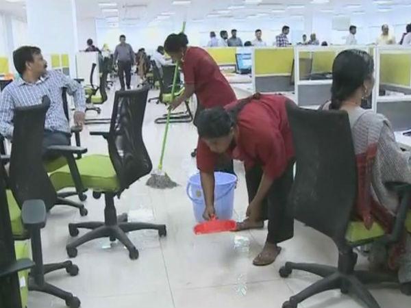 Again Rain Water Leakage Ap Secretariat