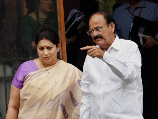Vice Presidential Poll Venkaiah Files Nomination