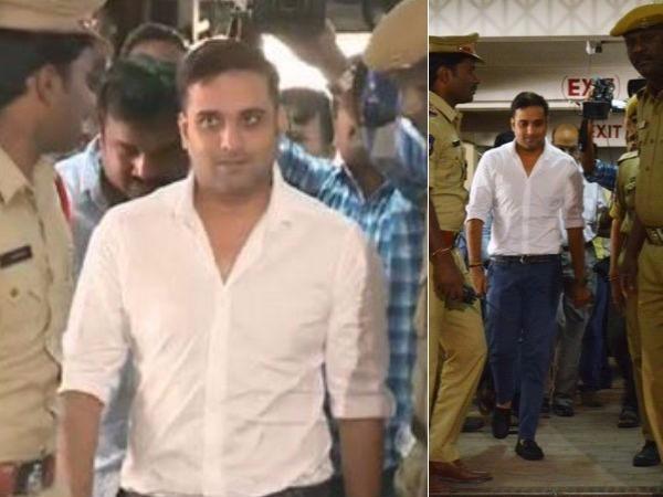 Hyderabad Drug Bust Telugu Actor Tarun Appears Before Sit