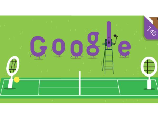 Google Doodle Celebrates 140 Years The Wimbledon Championships