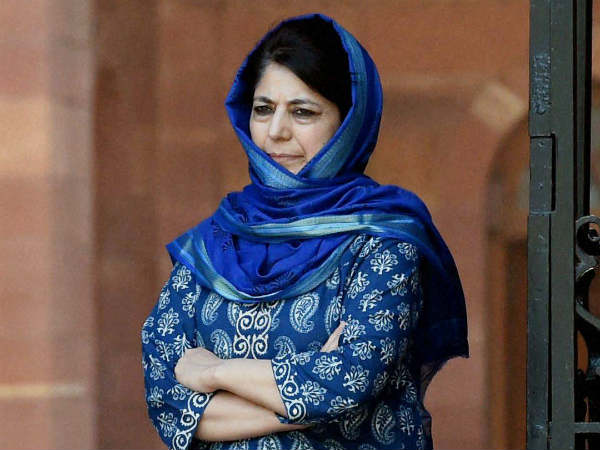 Mehbooba Mufti meets Rajnath, accuses China of meddling in Kashmir, Silence on Amarnath terror attack