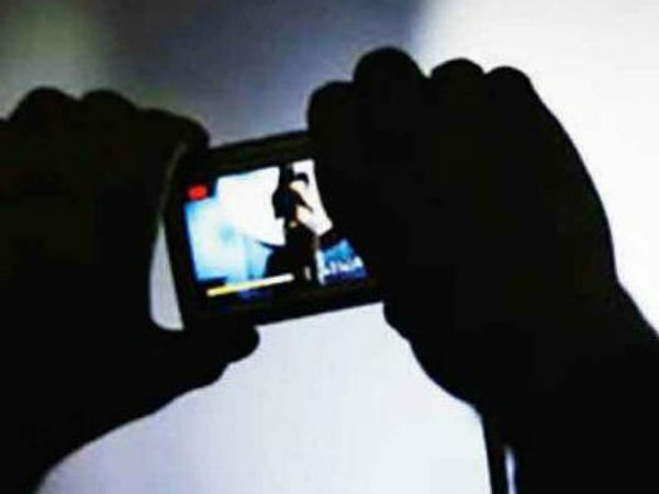An Unknown person blackmailed tenage girl in Bangalore that he will post her nude pics in social Media