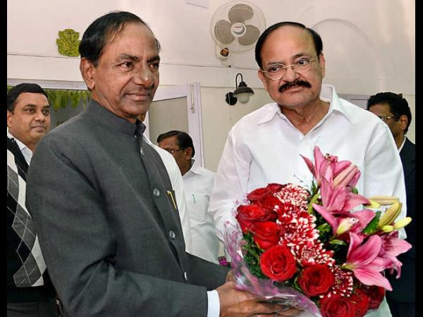 Vice President Venkaiah Naidu Felicitated Hyderabad