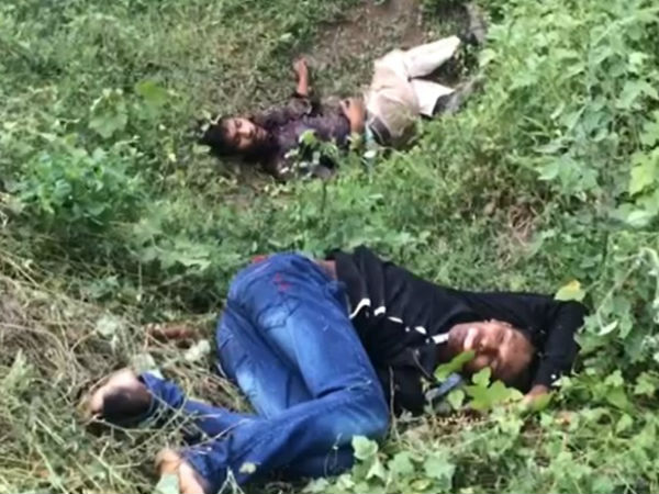 Two Die A Road Accident Guntur District