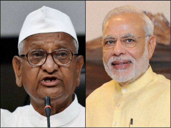 Upset With Narendra Modi Anna Hazare Plans Fresh Agitation