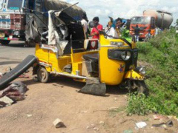 Six Die A Road Accident Kumram Bheem District