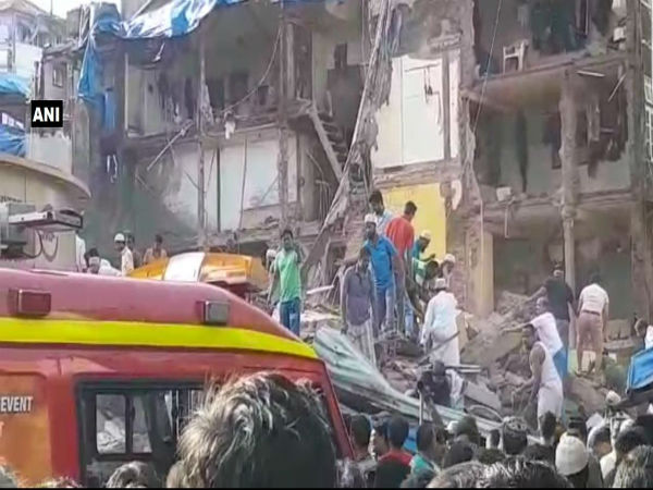 Mumbai: 5 storey Building Collapses in Dongri; 30 Persons Feared Trapped