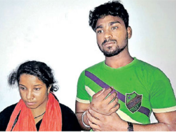 A Couple Attacked On Police Passenger