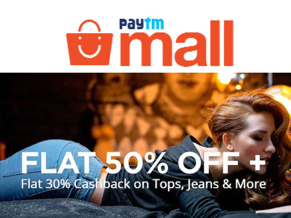 Paytm Mall: Post-Independence Day Sale, Grab Up To 50% Off + Minimum 30% Cashback*