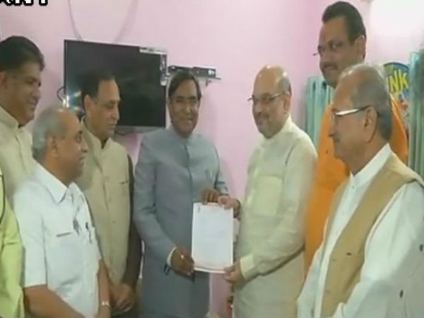 Bjp President Amit Shah Resigns Mla Post