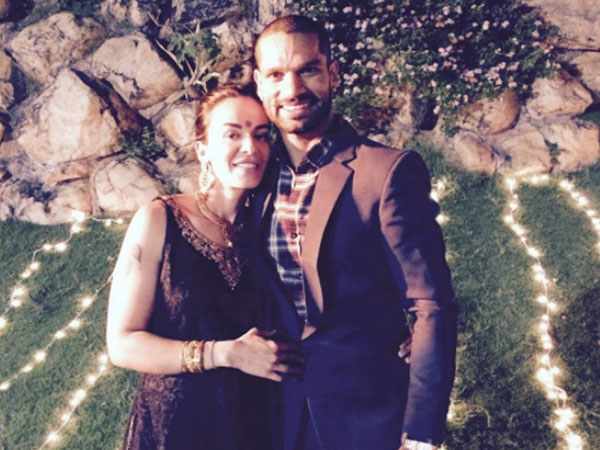 Shikhar Dhawan Has An Emotional Message Wife On Her Birthday