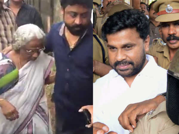 Dileep S Mother Sarojam Send Letter Cm Pinarayi Vijayan