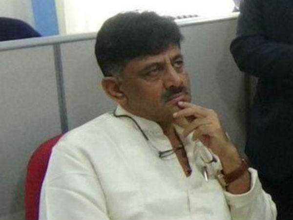 Karnataka Minister DK Shivakumar on Monday appeared for IT enquiry
