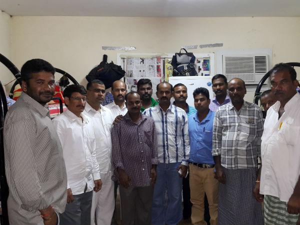 Kamareddy Man Killed Road Accident Bahrain