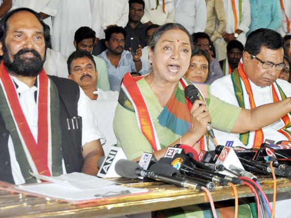 Meira Kumar Vists Telangana Jail Calls On Dalit Victims Police Torture