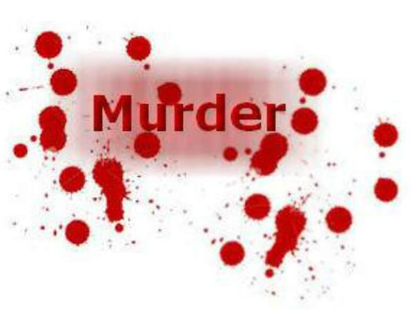 Former Marked Yard Chairman Murdered Kalyanadurgam