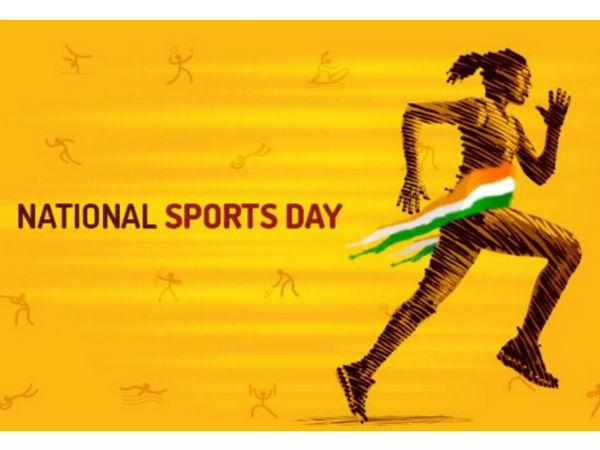National Sports Day Stars Convey Wishes