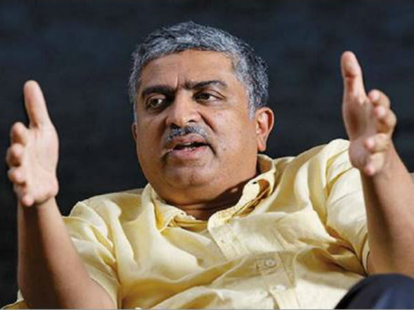 I Have Returned Lead Infosys Into The Future Nandan Nilekani