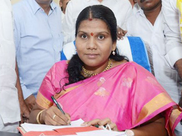Dessent Revealed Against Mla Peethala Sujatha