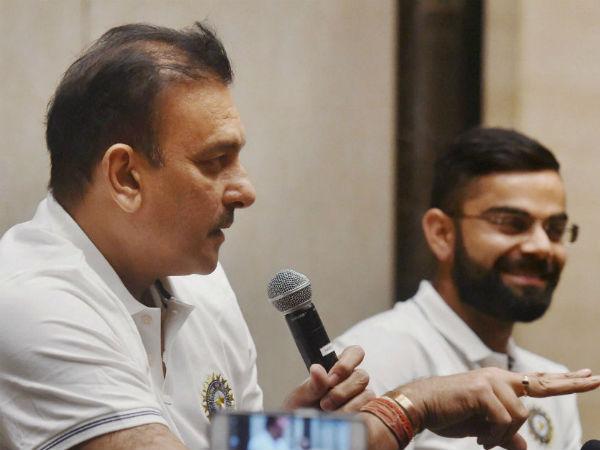 Ravi Shastri Wants Virat Kohli Co Break Australia World Record