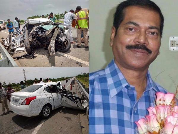 Former Mla Omkar Son Dr Vijay Kumar Dies Road Accident