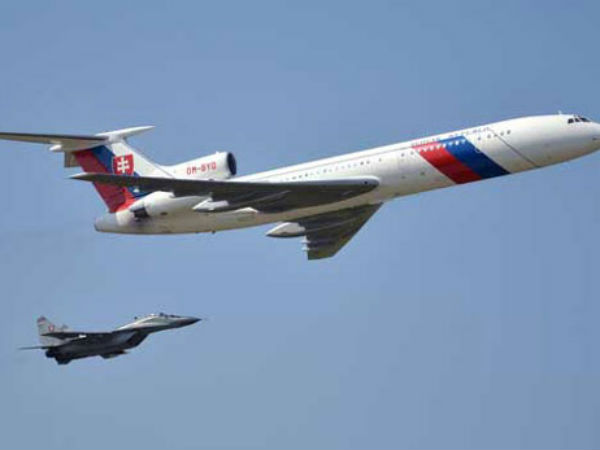 A Russian military jet flew over the US Capitol and Pentagon at a low altitude