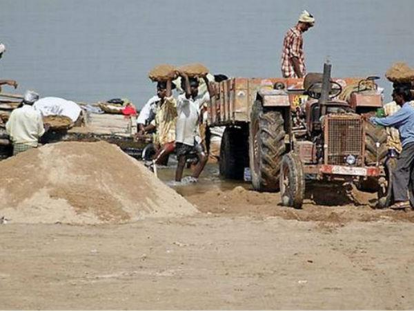 Naidu Calls Rectification Anomalies Free Sand Policy