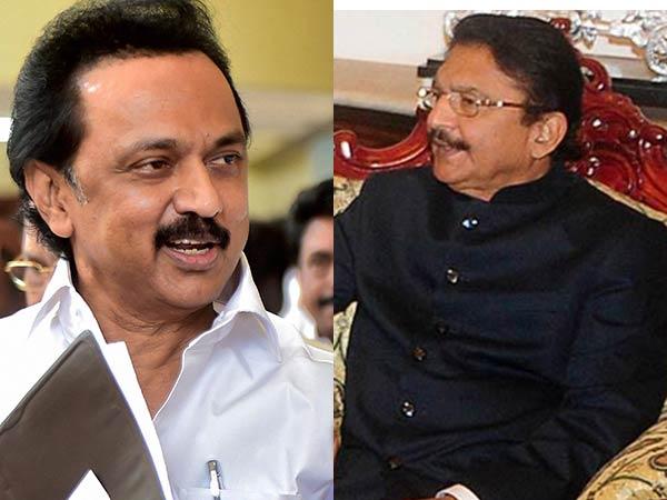 Dmk Leader Mk Stalin Meet President Says Tn Governor Playing Politics Over Floor Test