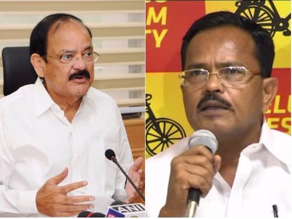 Motkupally Is Next Governor Says Venkaiah Naidu