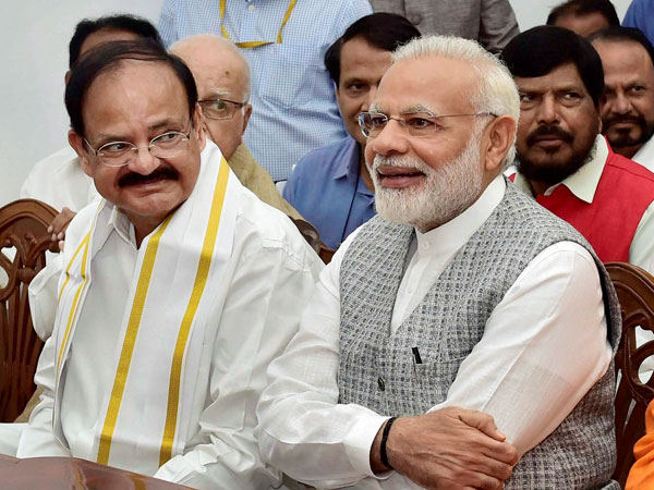 Venkaiah Naidu Will Give Us Tough Time Rajya Sabha Says Modi
