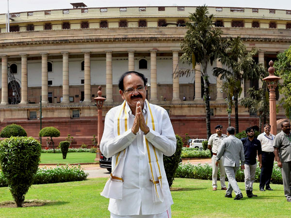 I'm an all-party man: Venkaiah Naidu in RS