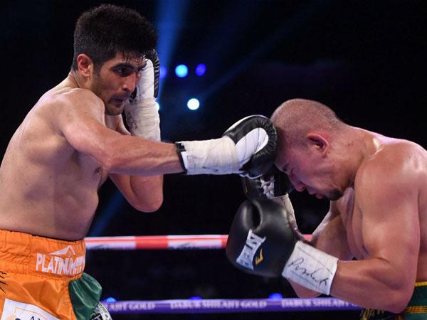 Nine Is Fine Vijender Singh Beats Zulpikar Maimaitiali Win Wbo Asia Pacific