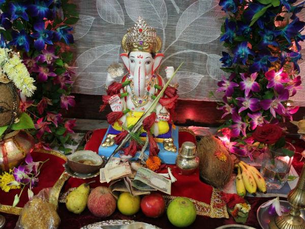 Ganesh THE IMPORTANCE OF  GARIKA  POOJA IN GANESH POOJA!