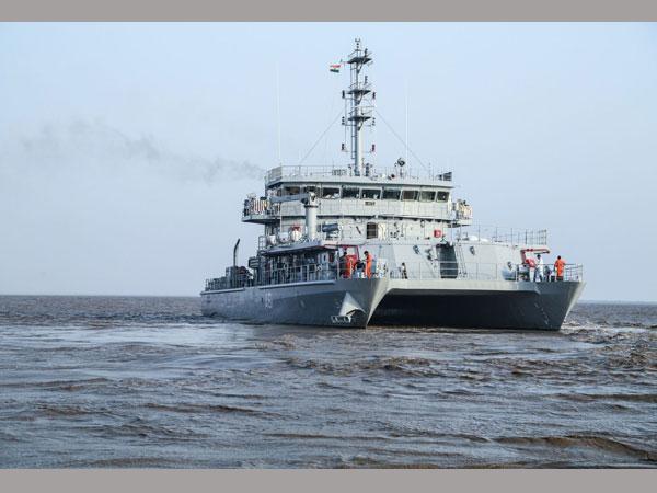 Ship Visakhapatnam Sailed The Side