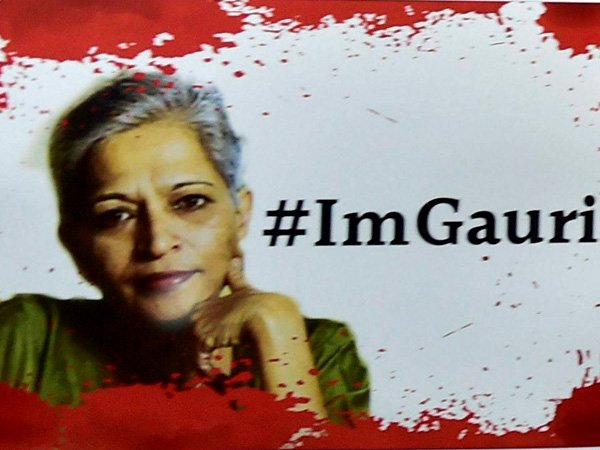 Gauri Lankesh Murder Case 500 Cctv Footeges No Concrete Lead