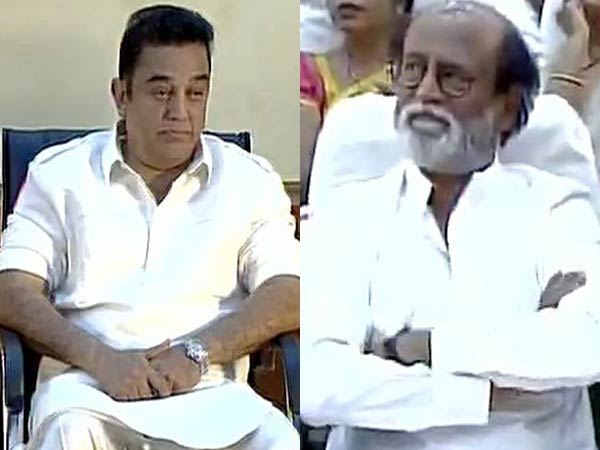 Actor Kamal Hassan says would work with Rajanikanth if he ever join Politics
