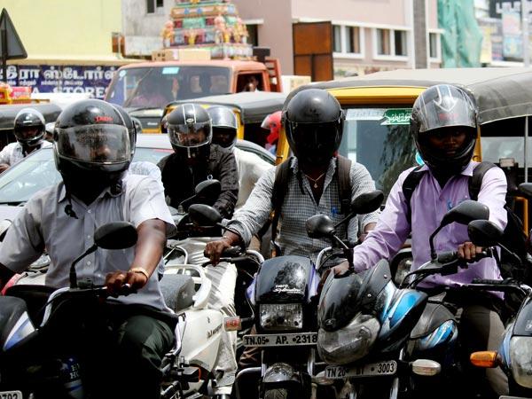 Brahmins Oppose Helmet Wearing At Viayawada