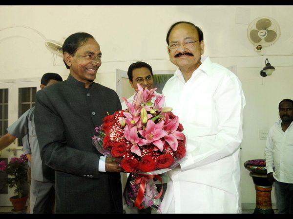 Venkaiah Naidu Praises Kcr Compulsory Telugu