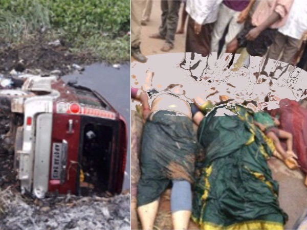 Accident West Godavari Six Killed