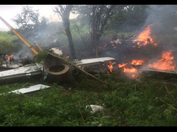 Iaf S Trainee Aircraft Crashes Near Medchal No Casualties